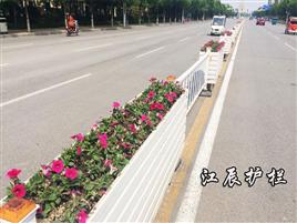 黄冈市道路花箱护栏