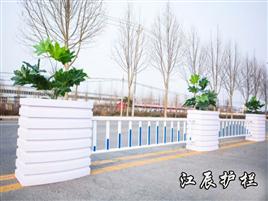潜江市PVC花箱护栏销售