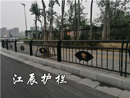 曲靖市城市文化护栏效果图