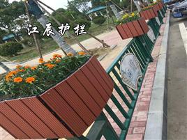 庆阳市花箱道路护栏安装