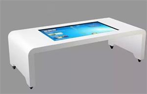 55寸触控一体机 触摸一体机 茶几式触摸桌 多点互动触摸