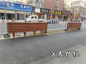 邢台市京式花箱结合护栏
