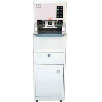 欧士达QZD-225全自动线式档案卷宗装订机 激光定位 三孔一线档案装订机