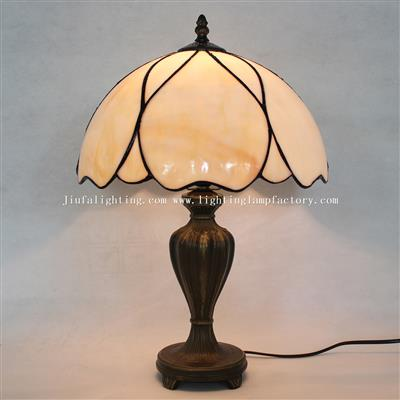 TL120246 Tiffany Style Stained Glass Modern Table lamp Leaded Bedside Light