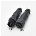 M12-5芯公頭 終端電阻120Ω 塑膠螺絲