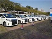 广州出租丰田两地保姆车丰田埃尔法租车多少钱