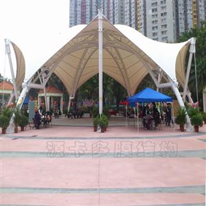 温州休闲广场膜结构_音乐广场_源卡多膜结构公司