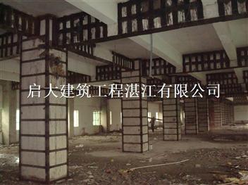 湛江外包鋼法加固結構柱