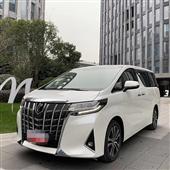 北京租一台丰田阿尔法要多少钱北京埃尔法出租车