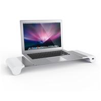 欧菲斯D1笔记本电脑支架铝合金桌面增高托架散热器颈椎折叠便携式苹果MacBook手提底座升降