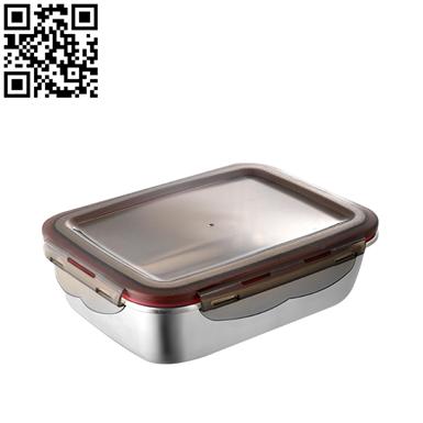 方形保鲜盒(Stainless steel Preservation Box)ZD-BXH17