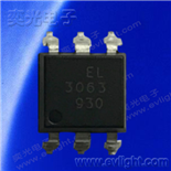 EL3063S1(TA)-G无卤的带过零侦测的可控硅光耦