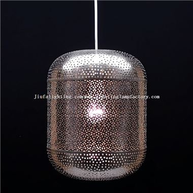 PL0011 Pierced metal hanging lamp contemporary pendant lighting