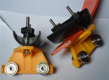 TVVB天车扁线 耐折耐弯曲扁电缆 橙色扁线滑轮滑轨12芯13芯至60芯