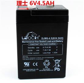 理士蓄电池DJW系列6V4.5AH
