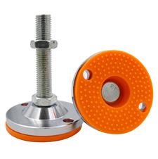 重型调节脚杯m16固定螺丝垫脚m20机械支撑防滑地脚 万向垫脚16m