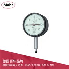 ANSI/AGD 機械指示表 0 系列 - Mahr Federal A型 與 N型