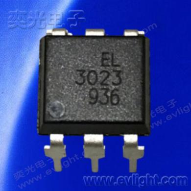 6Pin DIP-DC任意電平驅動的可控硅光耦EL3023