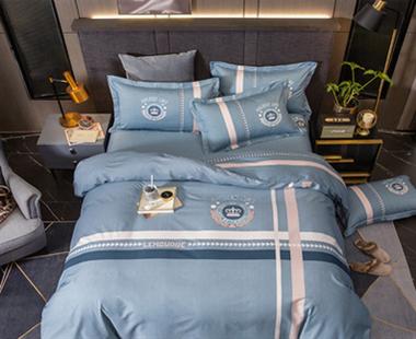 轻奢样板房床上用品