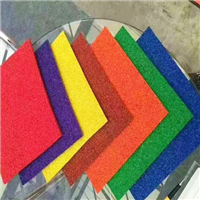 EPDM塑胶颗粒地垫EPDM弹性颗粒运动场地板幼儿园场地地胶