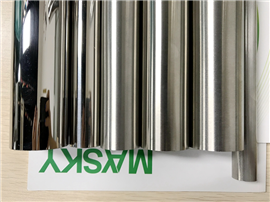 Stainless Steel Round Tube Mirror Finished