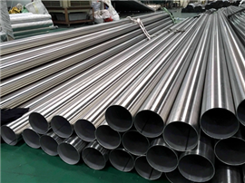 Welded Stainless Steel Round Tube Mill Finished Surface