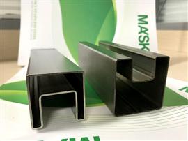 Square Stainless Steel Slot Tube for Glass Railing