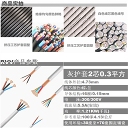 STP-120 2X3X2.0 总线电缆