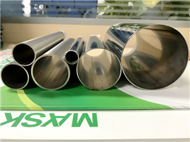 316L Stainless Steel Round Tube for Outdoor Decoration