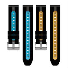 2020新款表带硅胶双色硅胶手表带批发生产