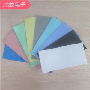 高導熱軟硅膠4W綠色200*400mm多種規格厚度導熱軟矽膠片軟硅膠墊可背膠3M膠