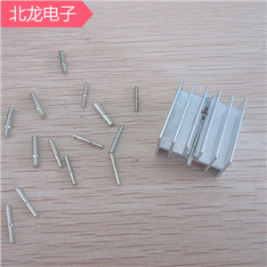 散熱器針插針焊針環保電鍍散熱器針1.0-2mm直桿 焊腳一包一萬