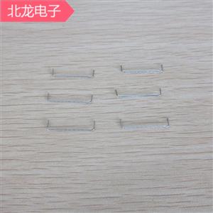 鐵氟龍套管跳線線徑0.5mm鍍錫銅引線0.5*10/12/13.5mm絕緣跳線1萬/包