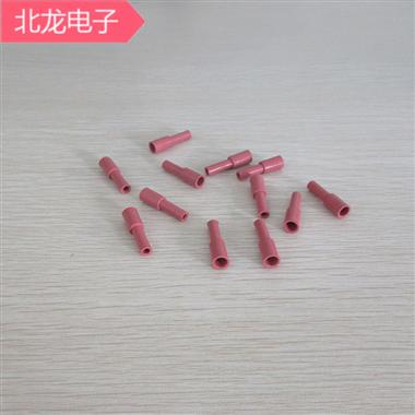 187直形/ 187直形加長紅色直插圓頭套4.8mm耐高溫阻燃硅膠護套