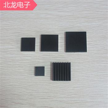 納米碳鋁箔散熱片機頂盒散熱片芯片降溫神器13*13/20*20/25*2530*30/40*40mm多種規格可背膠