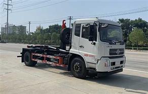 东风天锦国六钩臂垃圾车