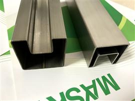 Stainless Steel Square Slot Tube 304 Grade