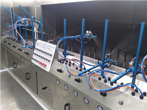 5g mobile phone automatic oil spraying equipment 5g mobile phone spraying equipment fully automatic 5g spraying equipment