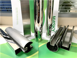 ASTM-A554 Stainless Steel Tube for Decoration