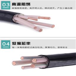 MKVVR 4*0.75矿用控制软电缆