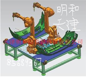 機器人鉚焊機~機器人超音波塑焊機~明和超音波