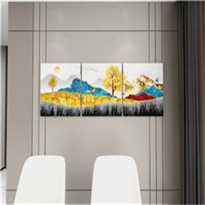 湖南长沙沙发背景墙装饰画有哪些窍门_专业安装