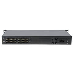12V DC 30 Amp 16 channel CCTV 1U Rack Mount Power Supply