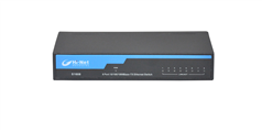 S1608-P 8 Ports 10/100/1000M POE switch with power adapter