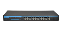 S2026-P 24+2G Ports POE Switch with internal power supplies
