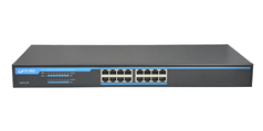 S2016-P 16 Ports POE Switch with internal power supplies