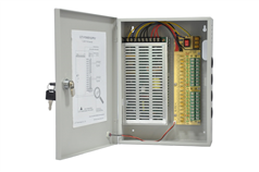 HP-DC1210-18    12V10A 18路CCTV集中供电箱
