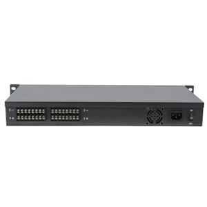 12V DC 10 Amp 16 channel CCTV 1U Rack Mount Power Supply