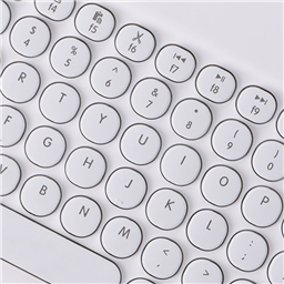 0301D 7 colors backlight keyboard for IOS/WINDOWS/ANDROID 9-11INCH  white