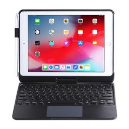 Q7 For iPad 10.2/10.5 通用 背光可旋转 无线键盘保护套 蓝牙 5.0 带触控板 带笔扣